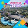 Lưu trú Serena Resort chỉ với 750.000đ/Khách
